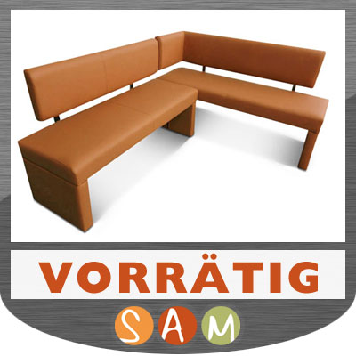 eckbank leder sander cappuccino neu ovp essecke lager ebay. Black Bedroom Furniture Sets. Home Design Ideas