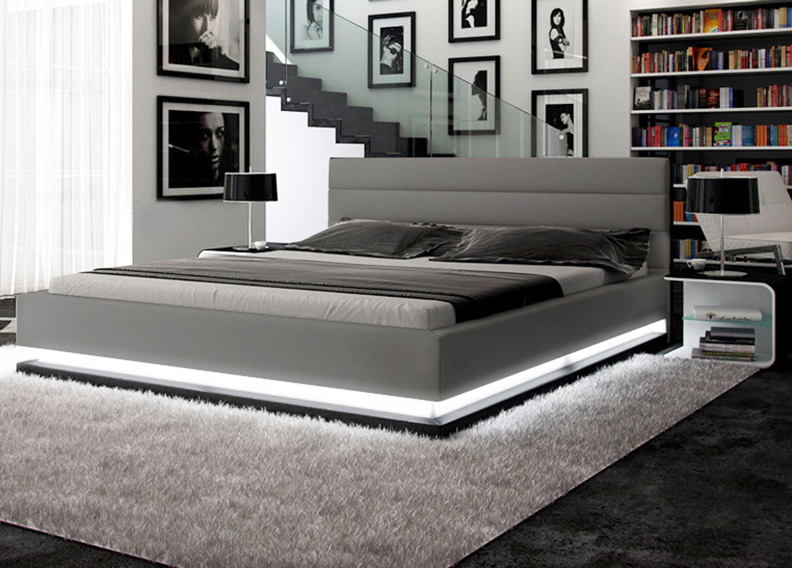 polsterbett 200 x 200 cm gio leder farbauswahl pani bestellware. Black Bedroom Furniture Sets. Home Design Ideas