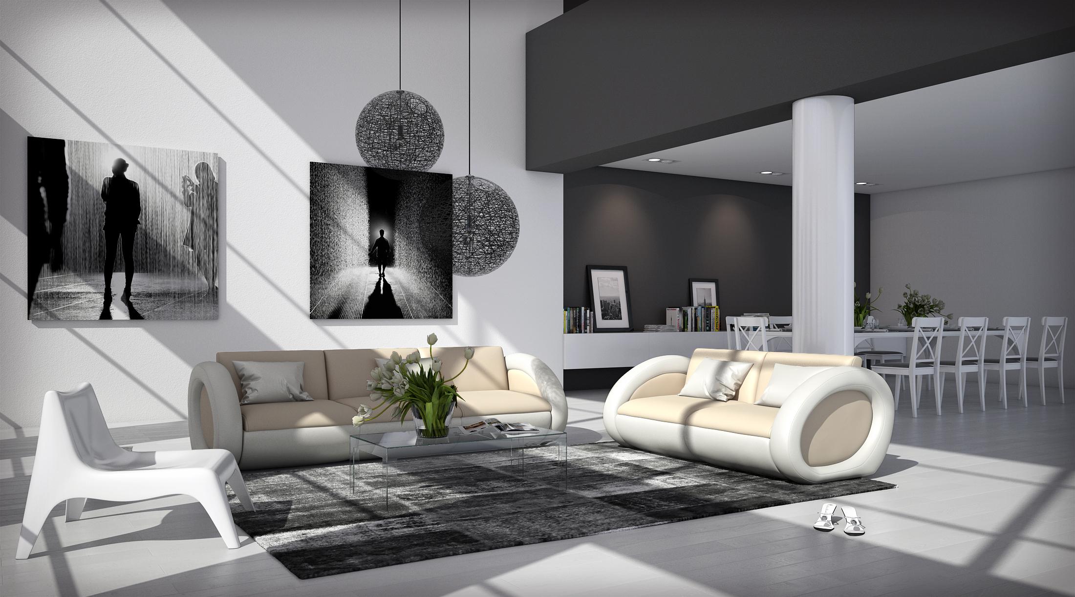 sam sofa garnitur farbauswahl onda 3 2 bestellware. Black Bedroom Furniture Sets. Home Design Ideas