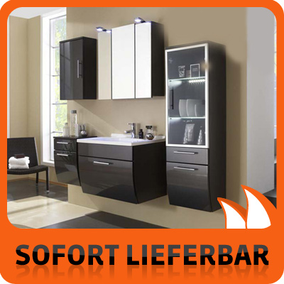 exklusiv badm bel set 5 anthrazit santana glas neu ovp ebay. Black Bedroom Furniture Sets. Home Design Ideas